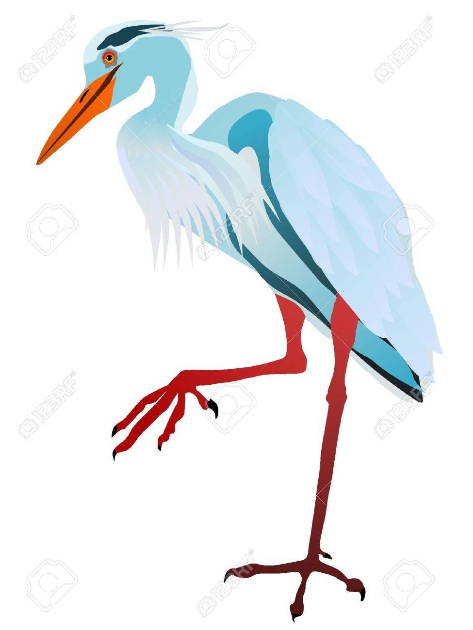 2 422 heron stock illustrations cliparts and royalty free heron vectors rh 123rf com blue heron clipart heron bird clipart