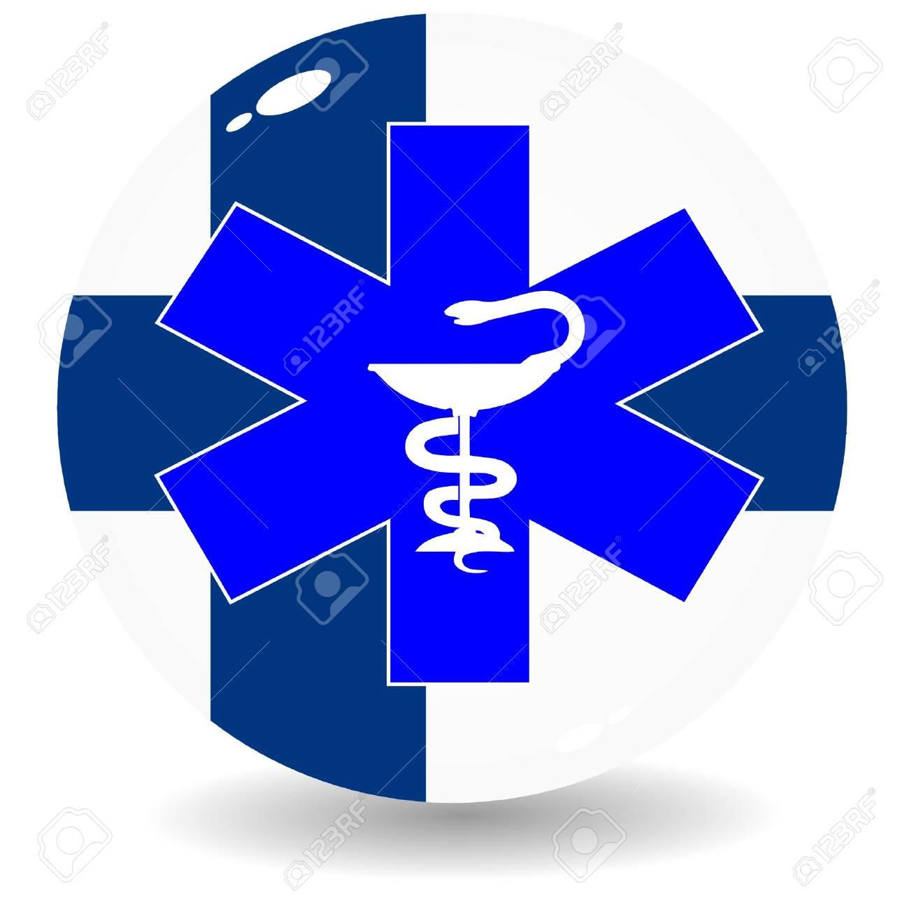 National Health Finland Stock Vector - 11908340