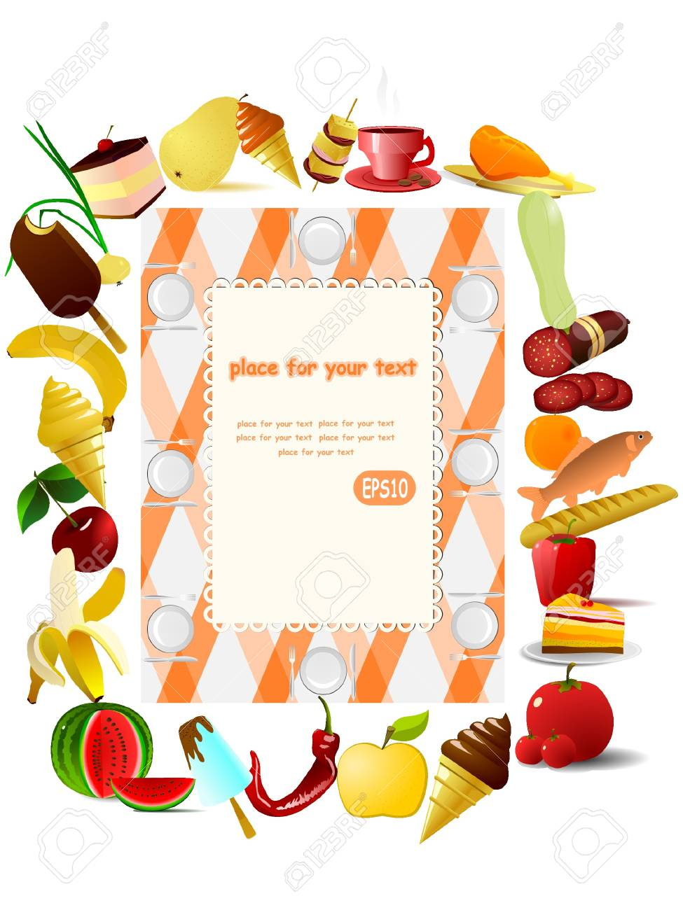 Vector illustration. Picnic. Stock Vector - 11942503