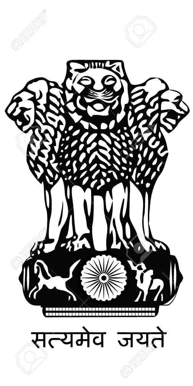 The arms of India Stock Vector - 11942849
