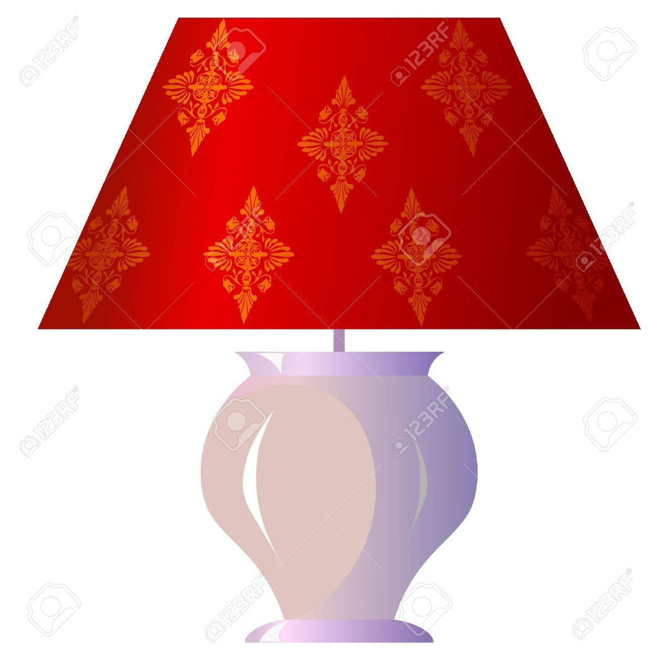 Lamp for the bedroom Stock Vector - 11942724
