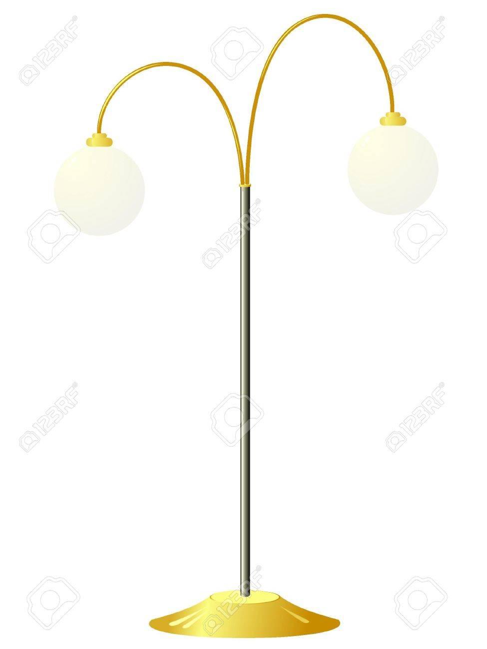 Floor lamp Stock Vector - 11942536