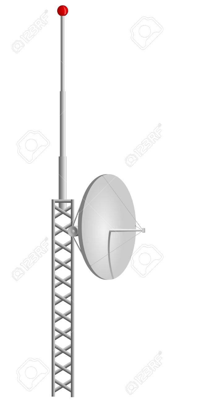 Vector illustration of mobile antennas Stock Vector - 12021435