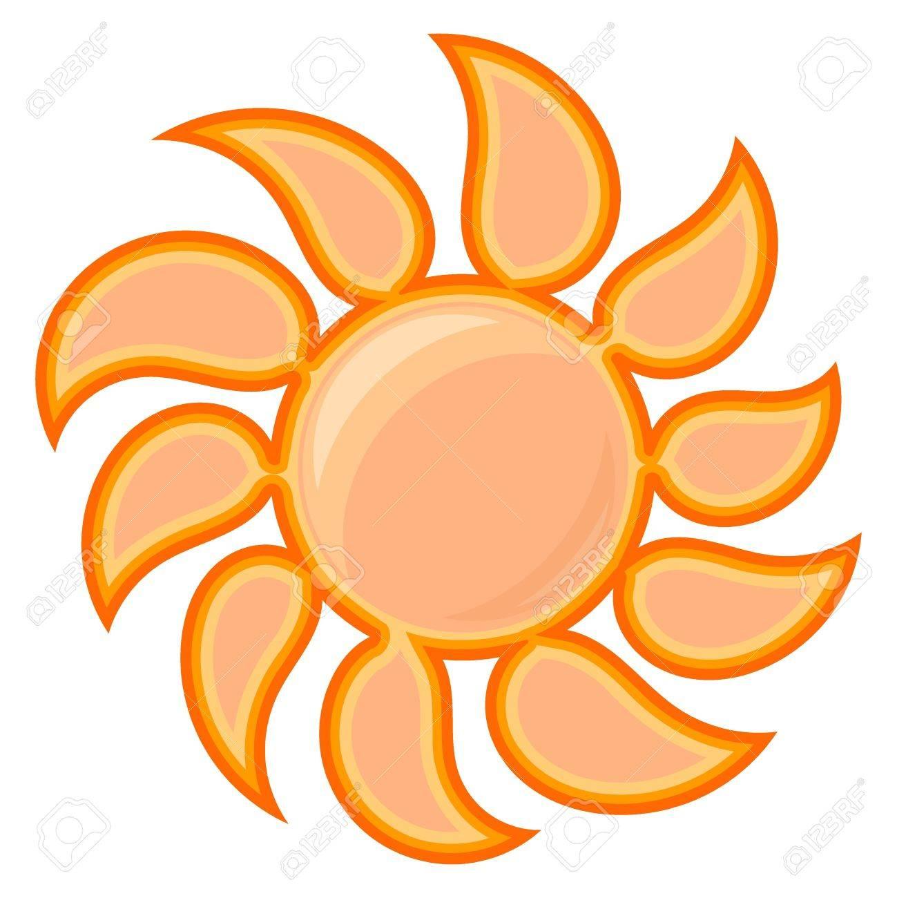 Vector sun sign Stock Vector - 12397644