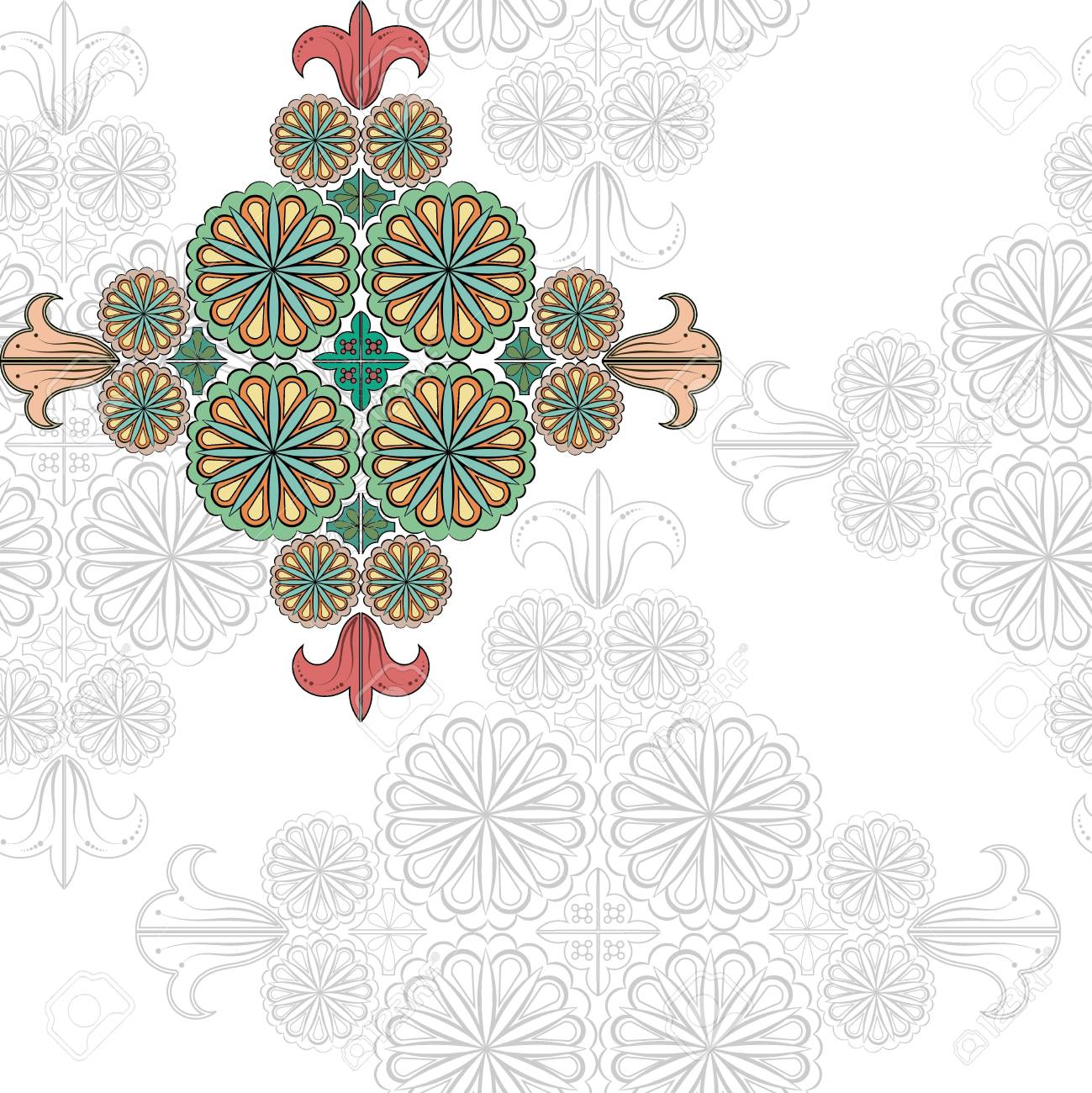 Floral pattern  vector Stock Vector - 14314458