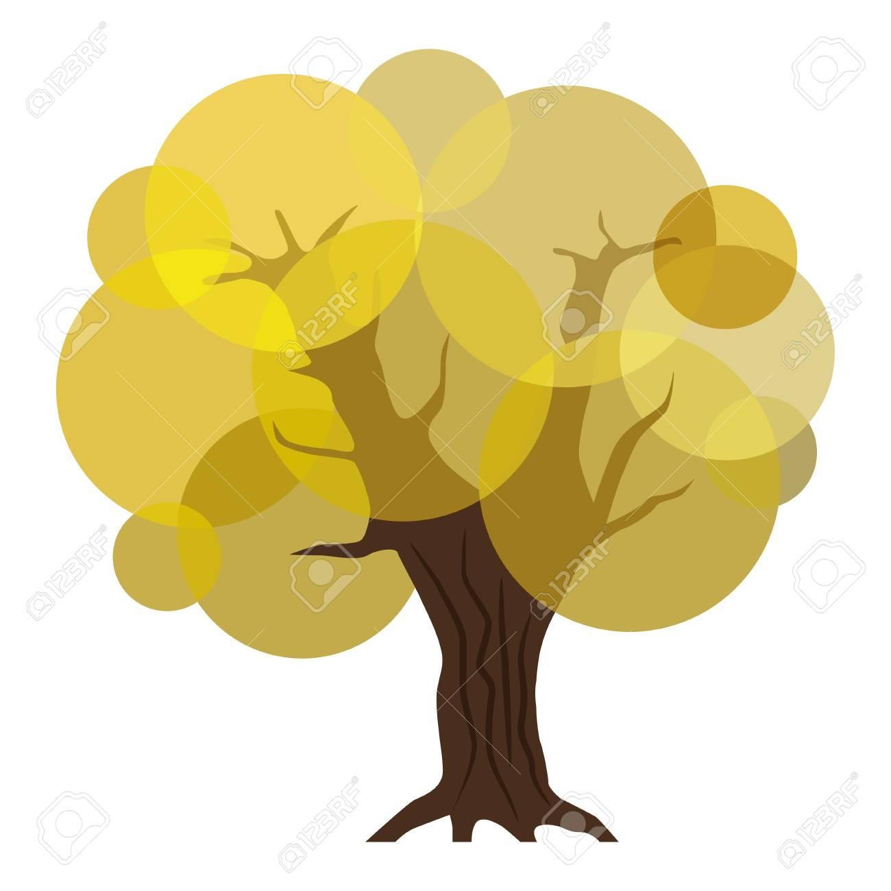 Abstract autumn tree. Stock Vector - 16109039