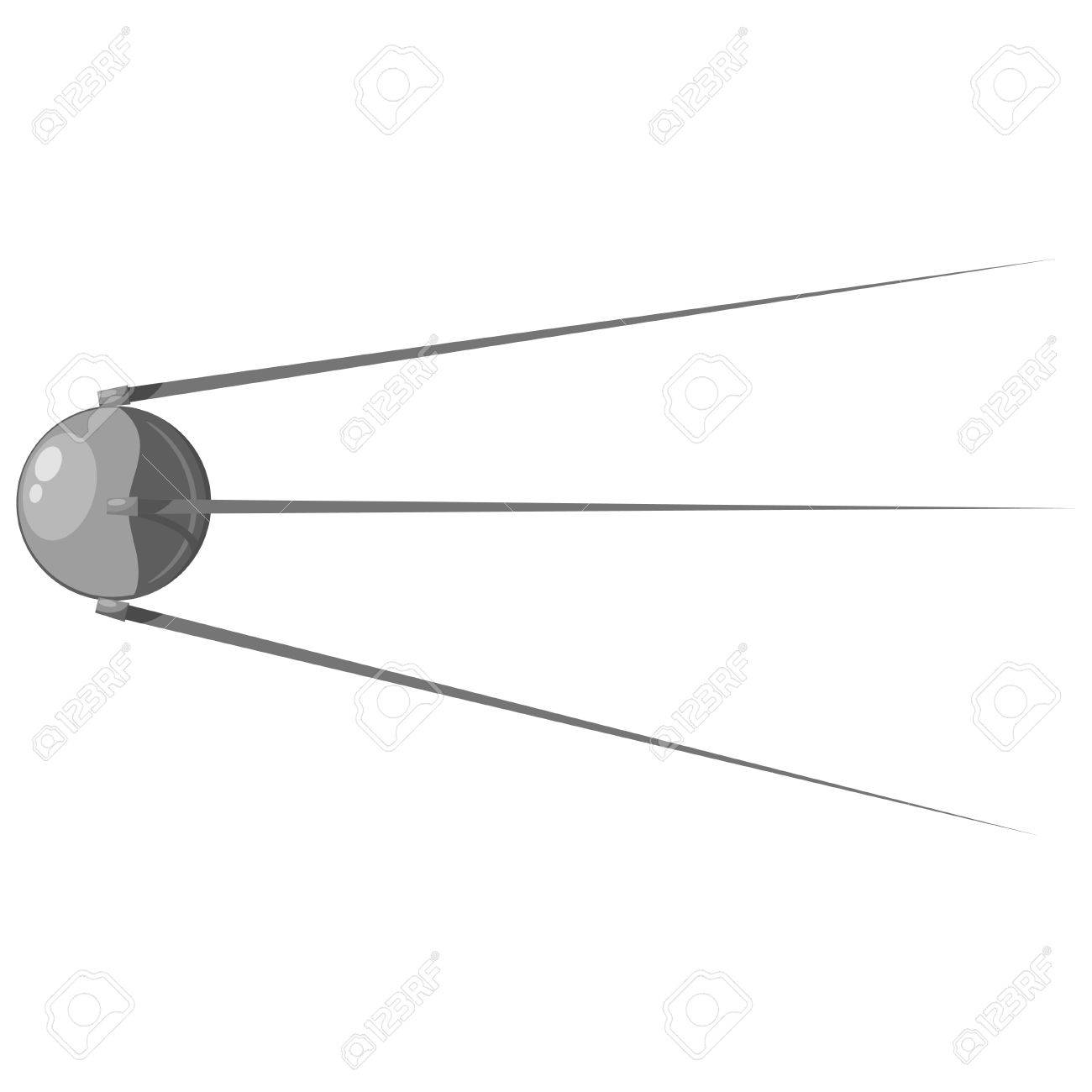 Cartoon satellite. Stock Vector - 16109120