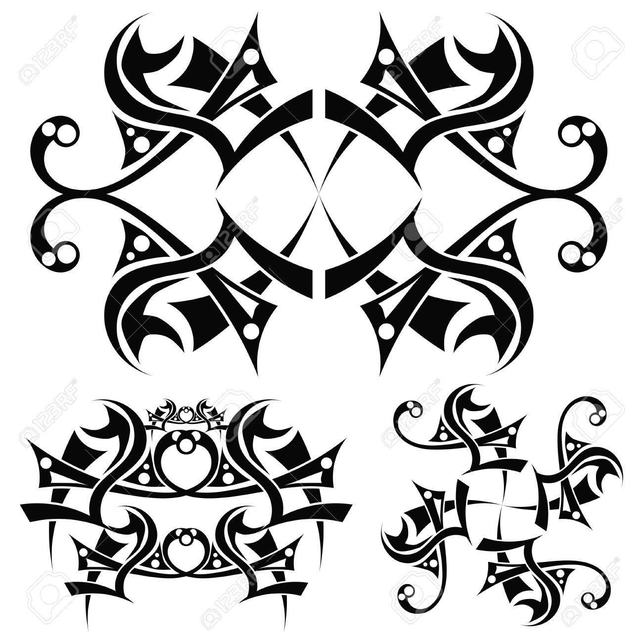 Tribal Art Design Stock Vector - 17900166