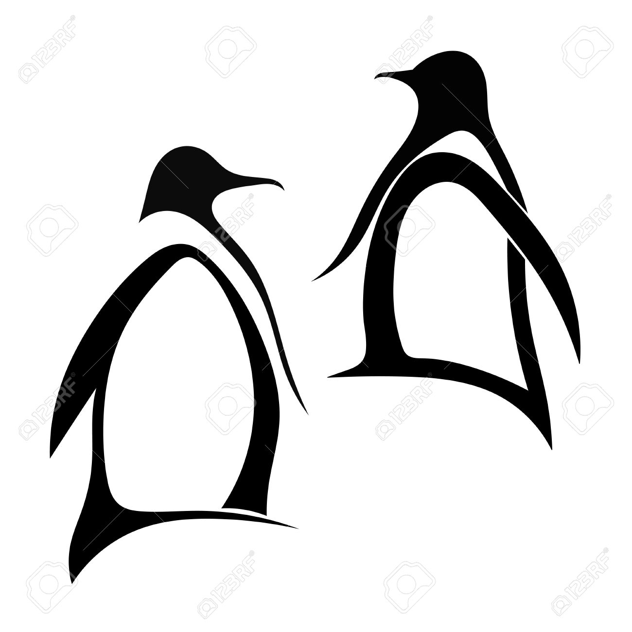 1 186 emperor penguin cliparts stock vector and royalty free
