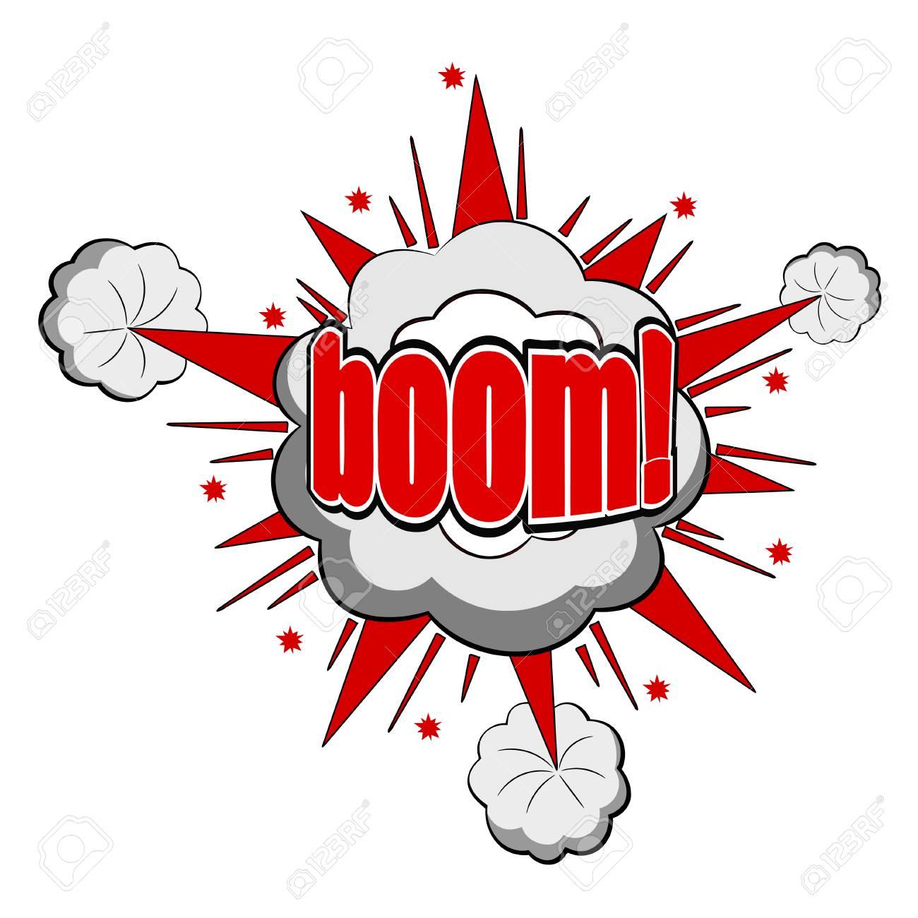 Vector Cartoon boom Stock Vector - 27374102