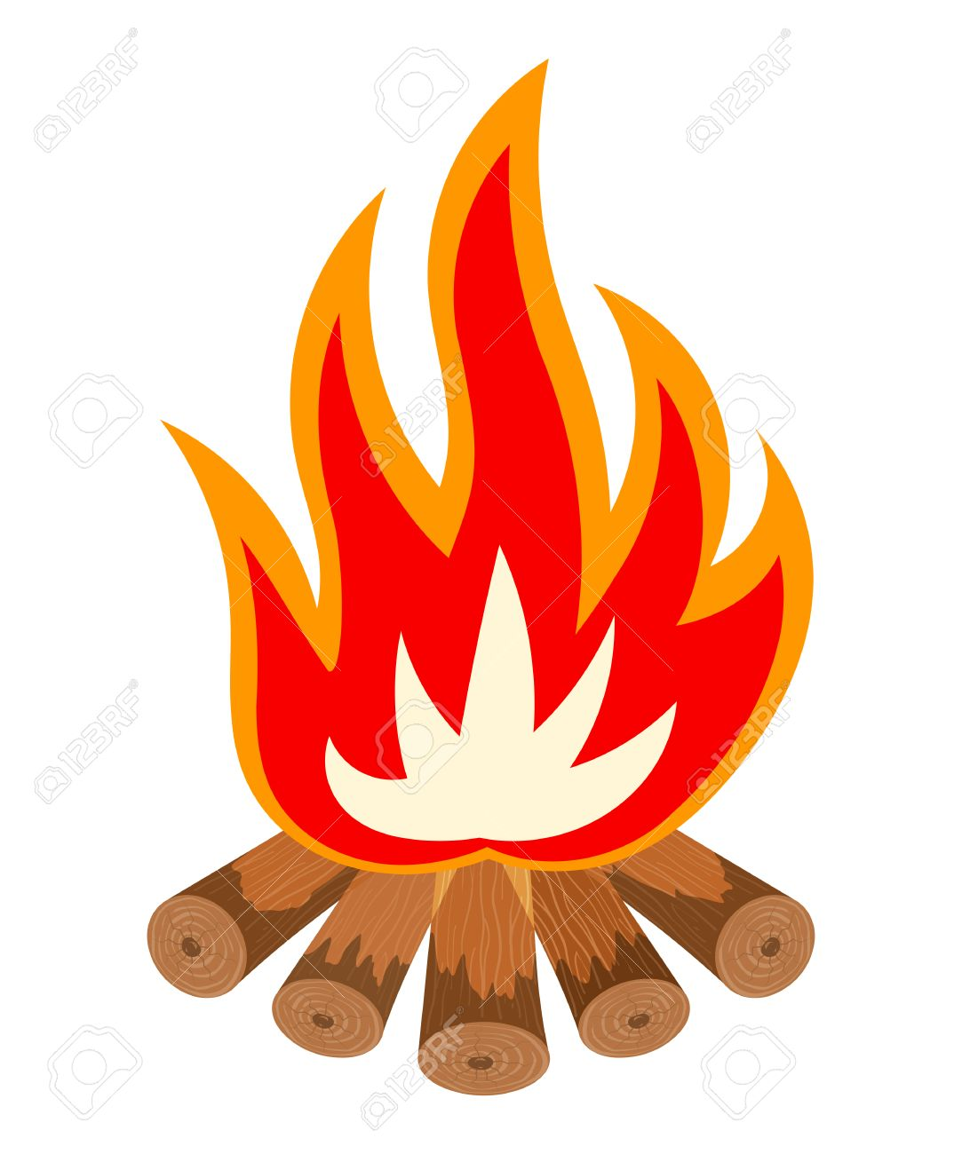cartoon illustration of a fire is not white bonfire isolate rh 123rf com bonfire cartoon tumblr cartoon bonfire night images