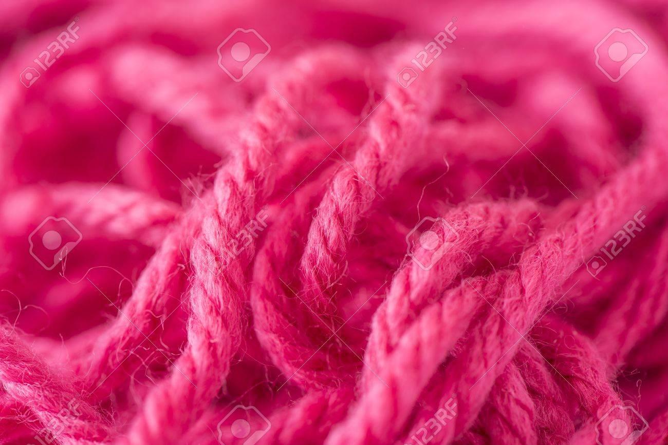 Deatil Flauschige Wolle Zum Stricken Und Häkeln Verwendet