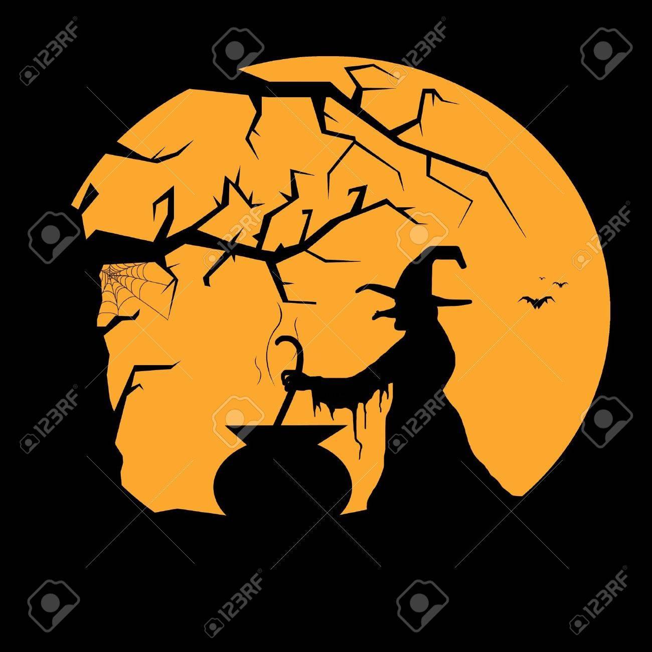 Resultado de imagen de imagen luna brujas