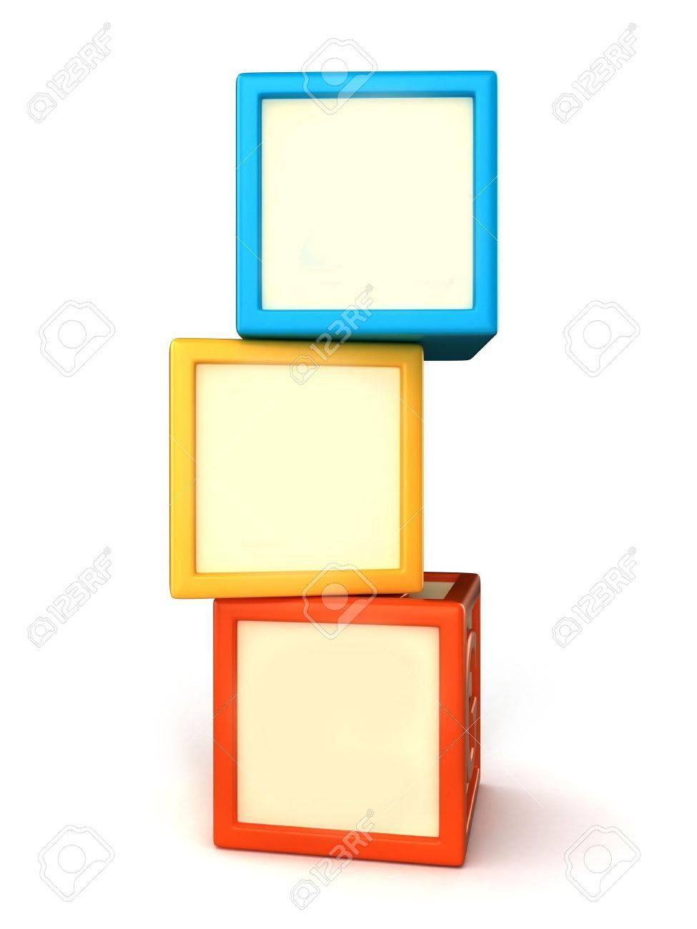 blank building blocks