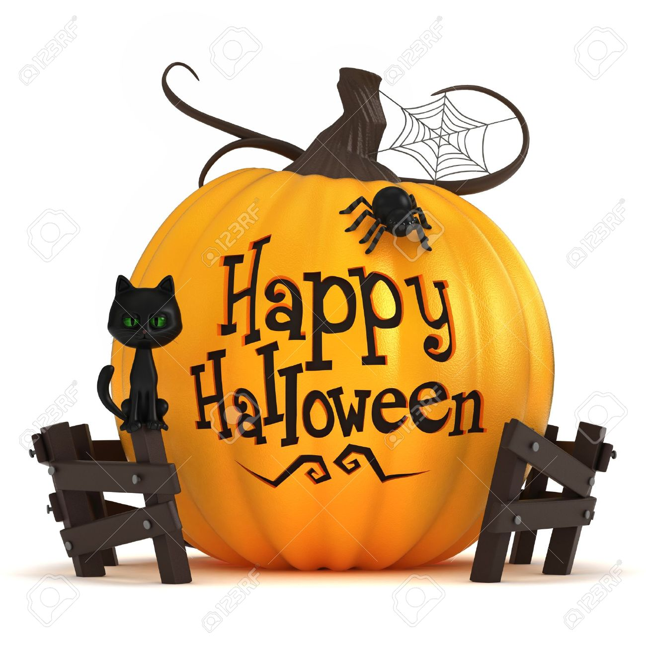 3d render of a halloween pumpkin stock photo picture and royalty