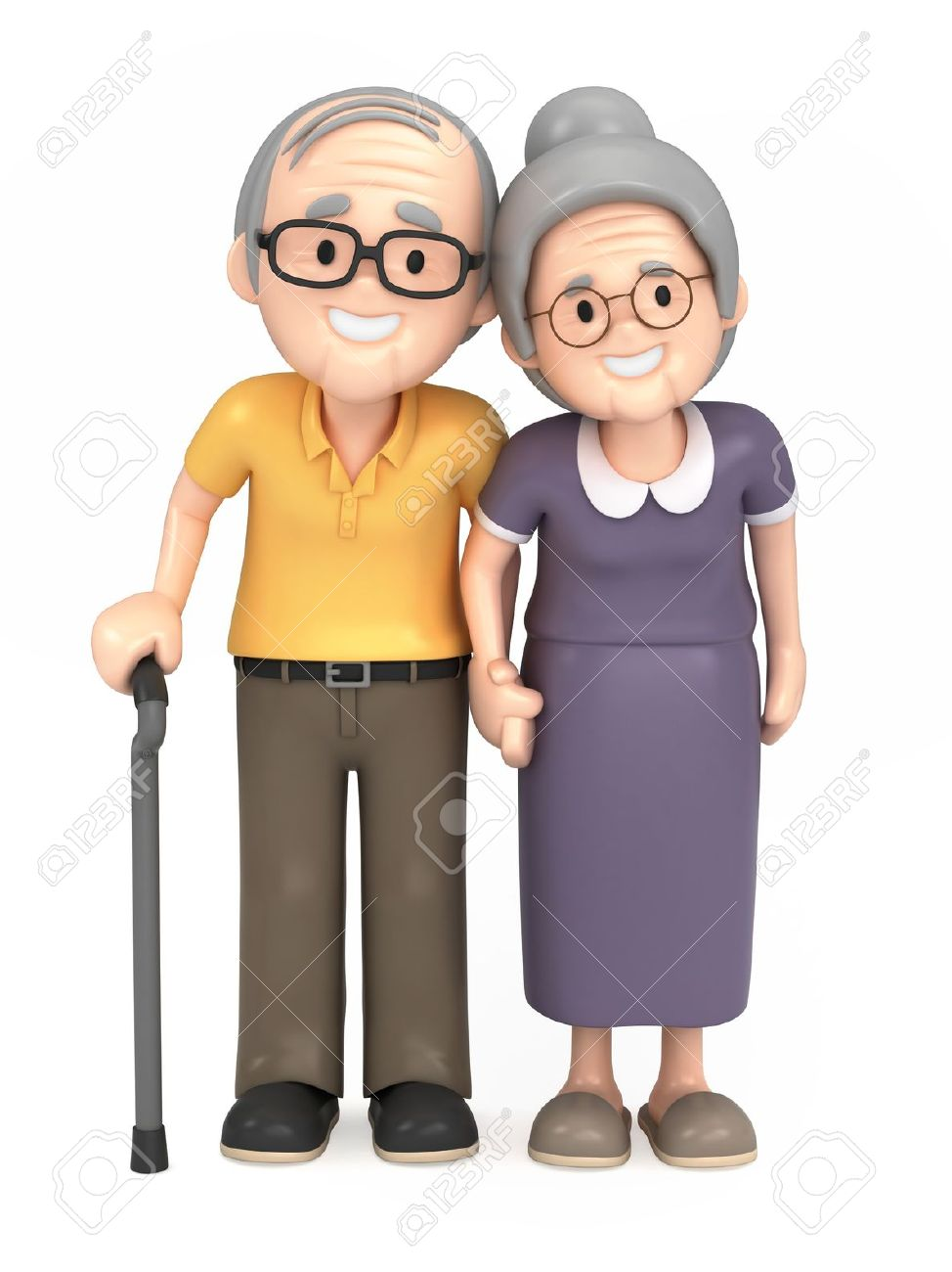 Grandparents Clipart - Synkee