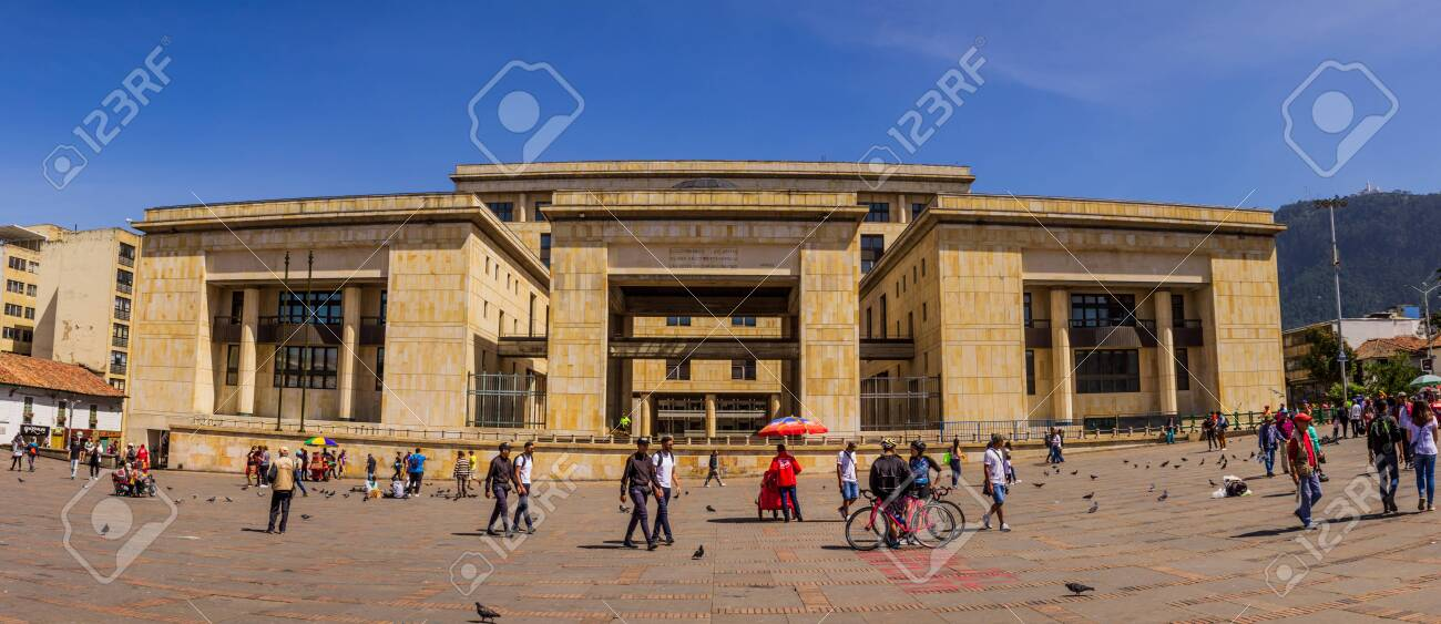 palace of justice main building of the judicial power in colombia stock photo picture and royalty free image image 139050639 https www 123rf com photo 139050639 palace of justice main building of the judicial power in colombia bolivar square of bogot c3 a1 january 5 html