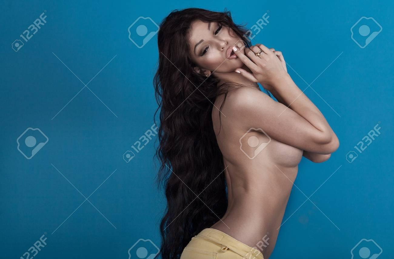 Black hair big boobs naked, girls in stocking porn
