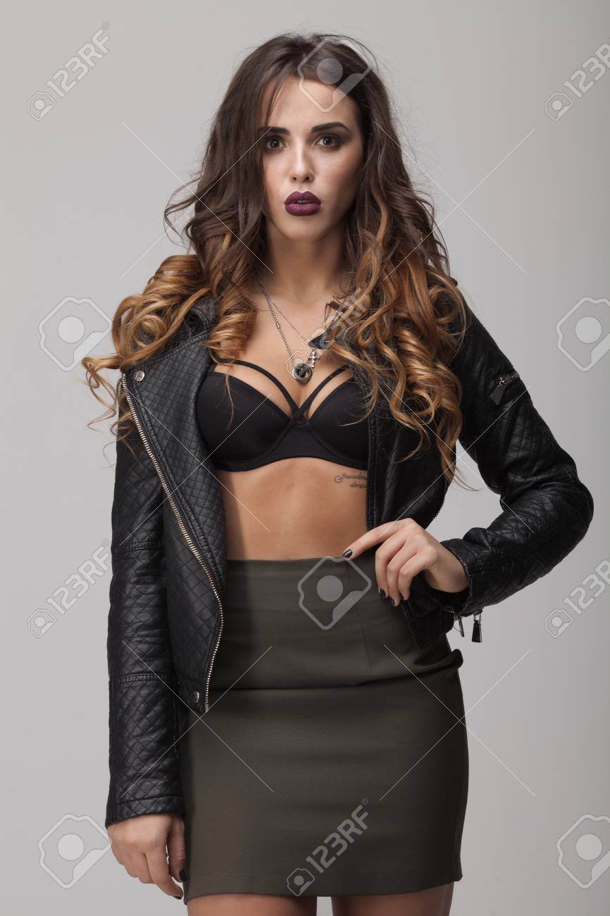 Image result for Wearing Lingeries Without Jackets
