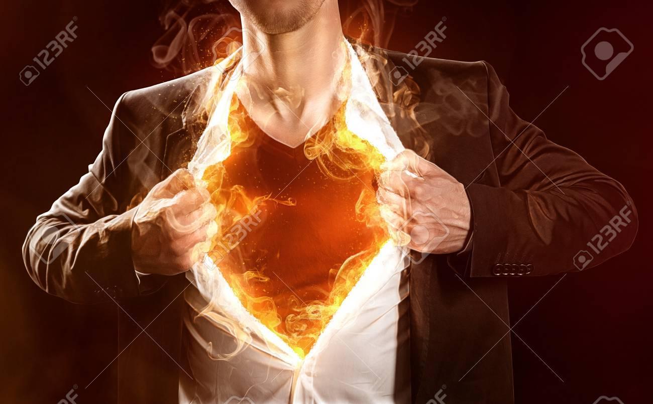 Burning Hero - 75551273