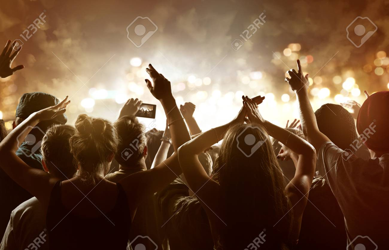 Crowd at a festival - 75488173