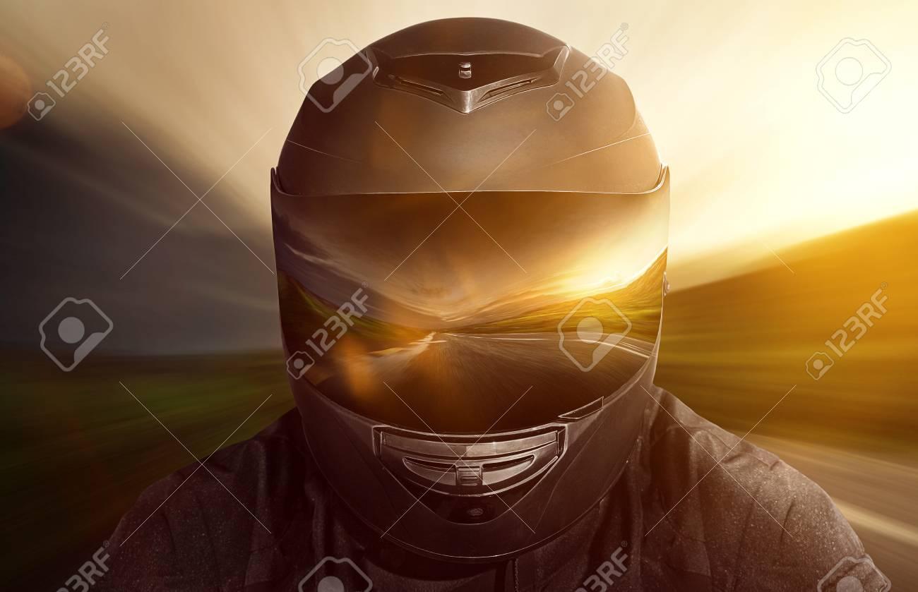 Motorbike Helmet - 77157889
