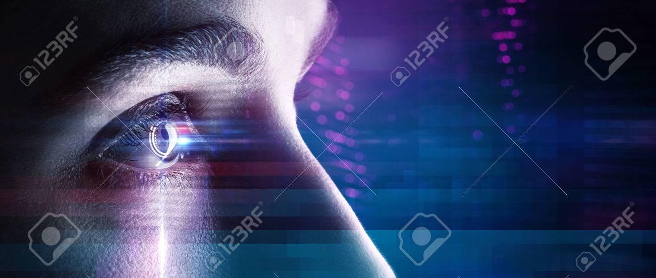 Eye in an high tech environment - 77466336