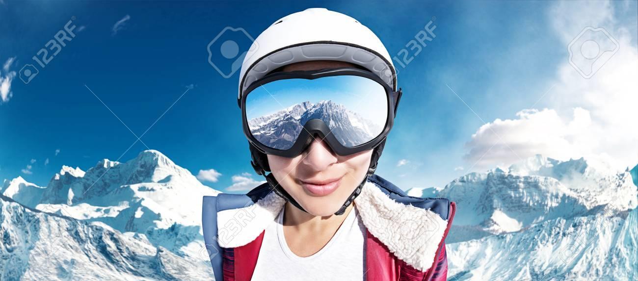Ski Girl - 77467038