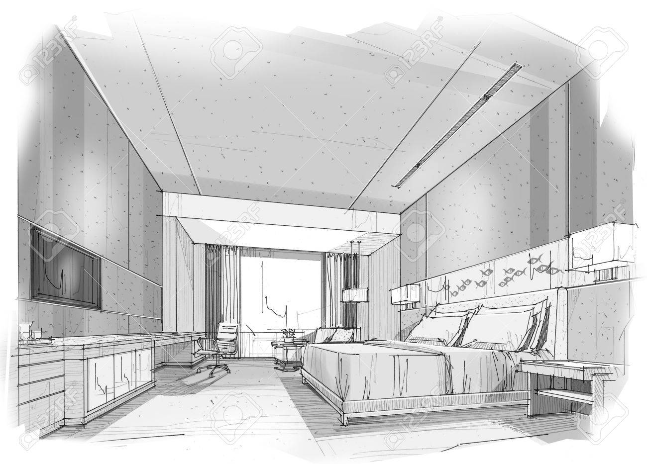 Dessin Chambre Perspective - Amazing Home Ideas - freetattoosdesign.us
