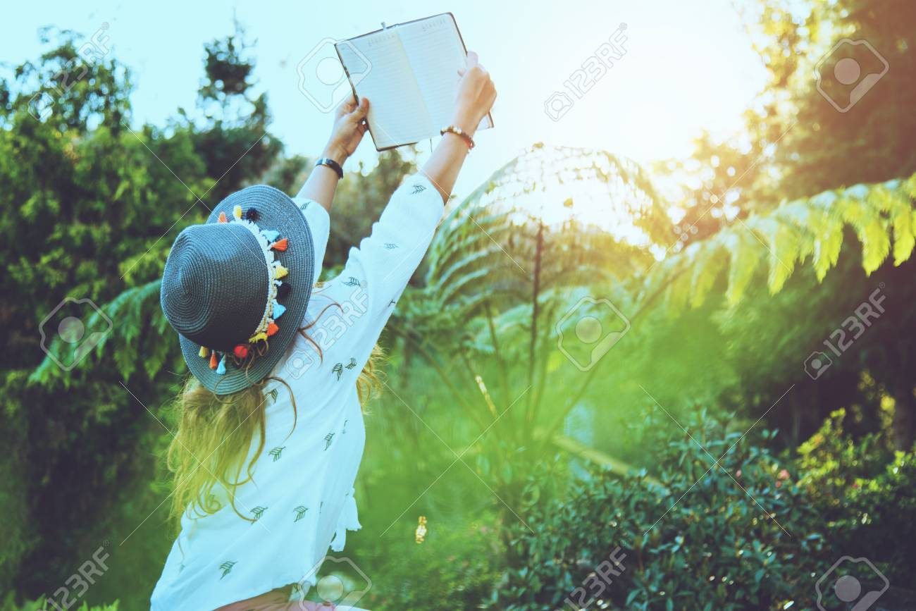 Asian Woman Travel Nature. Travel Relax. Study Read A Book. Nature.. Stock  Photo, Picture And Royalty Free Image. Image 100596466.
