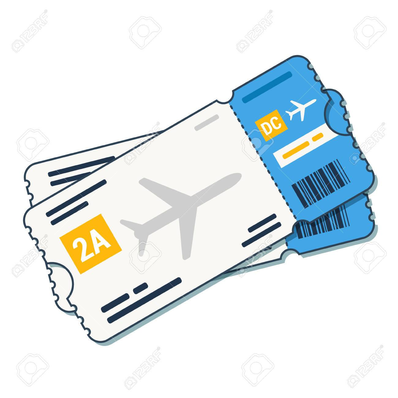 airline tickets boarding pass icon airline boarding pass ticket rh 123rf com