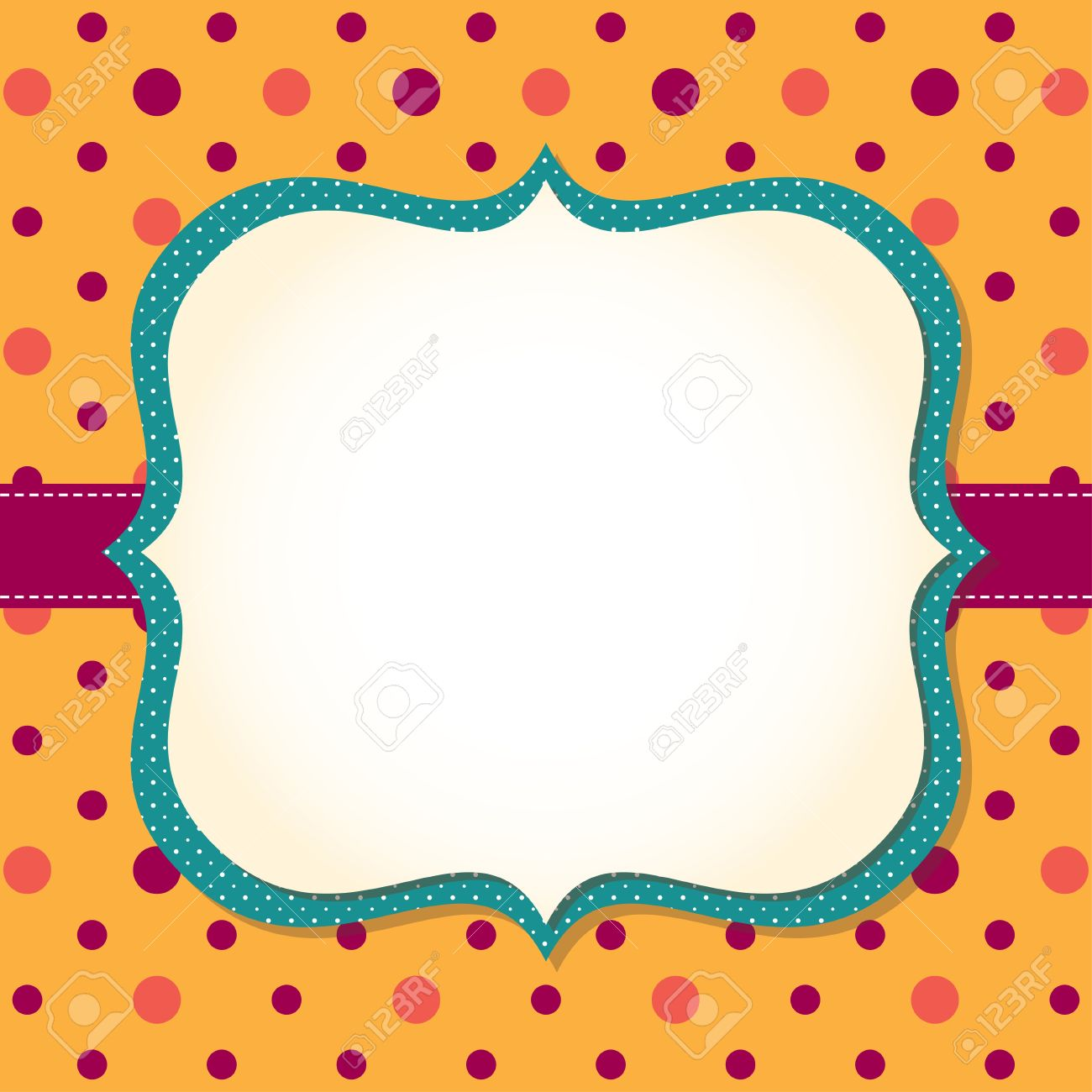 Cute Frame Background Royalty Free Cliparts, Vectors, And Stock ...