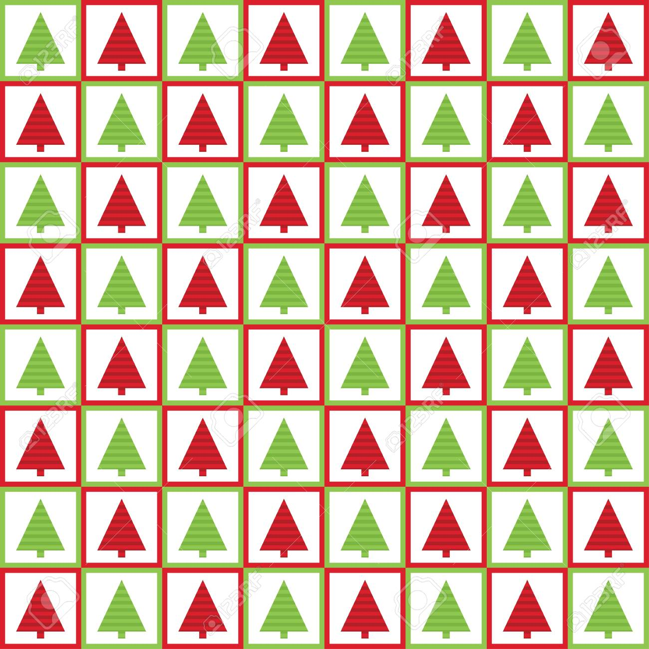 Christmas seamless pattern Stock Vector - 16615529