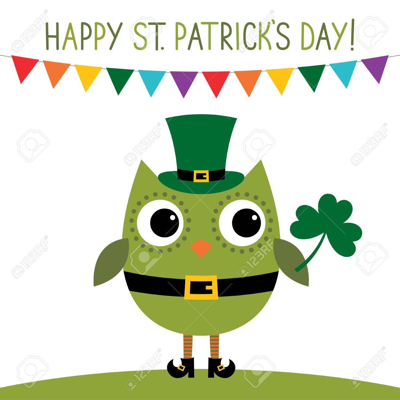 St Patricks Day Card Royalty Free Cliparts Vectors And Stock