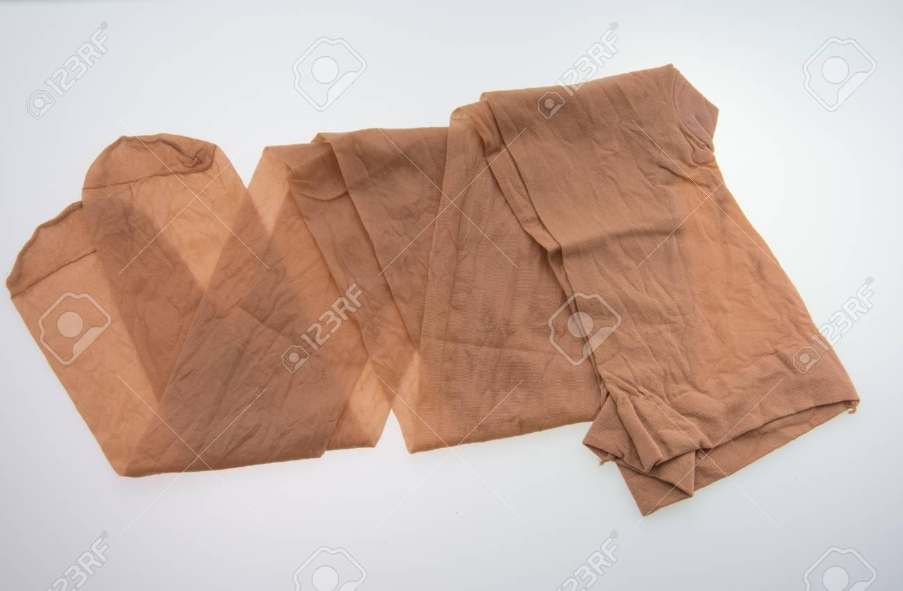 Transparent stockings, nylon tights, lingerie. - 104984513