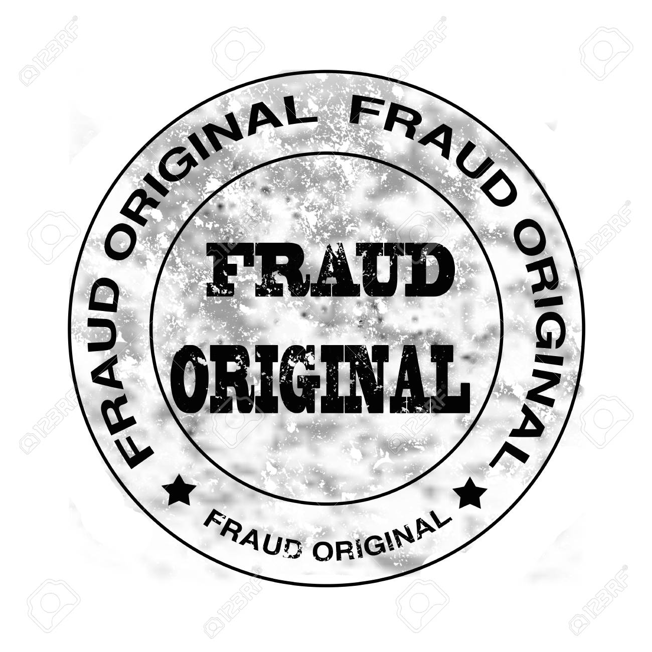 cheap for discount 56f8d aa7a1 fraud original grunge stamp with on vector illustration Stock Vector -  28403541