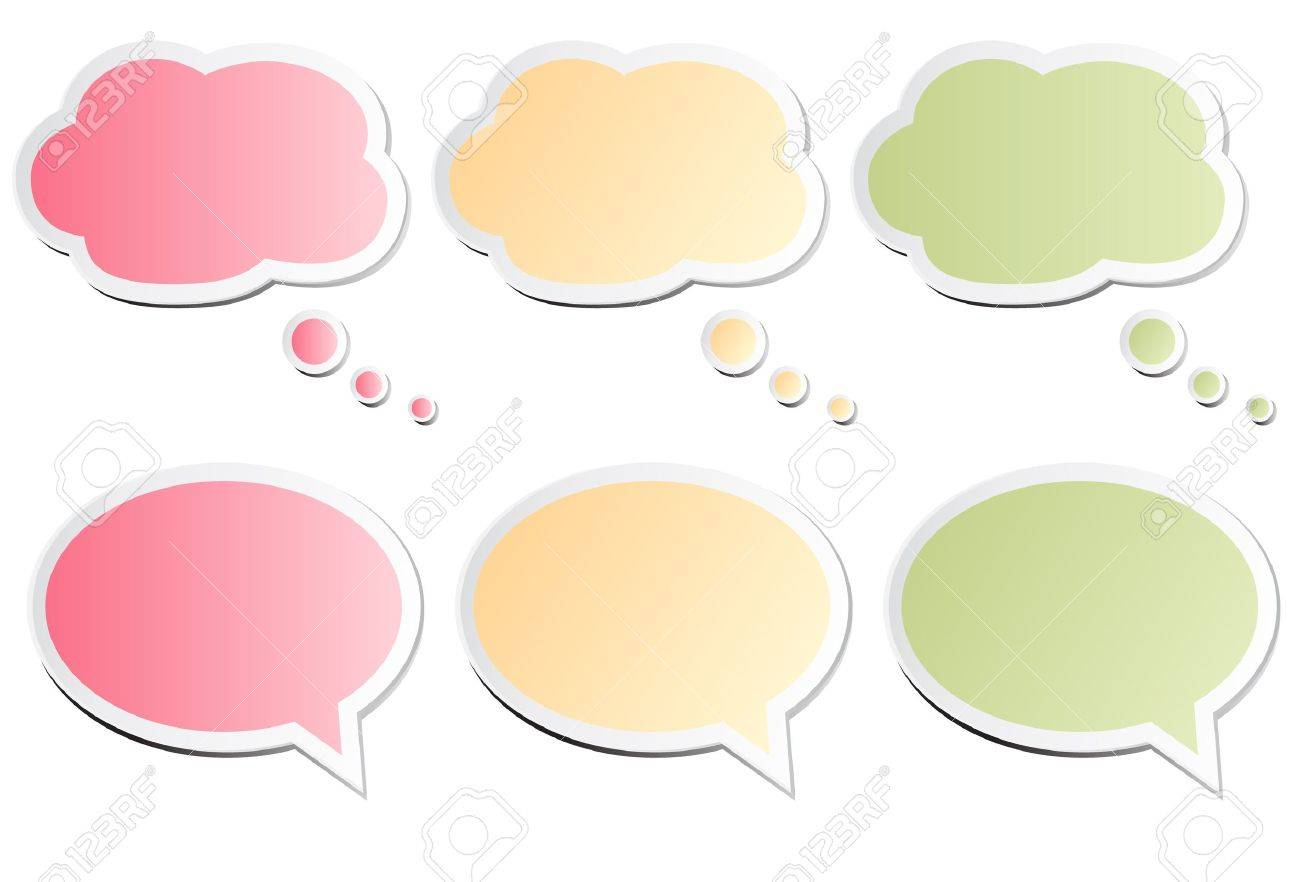 Chat Bubbles Stock Vector - 9918198