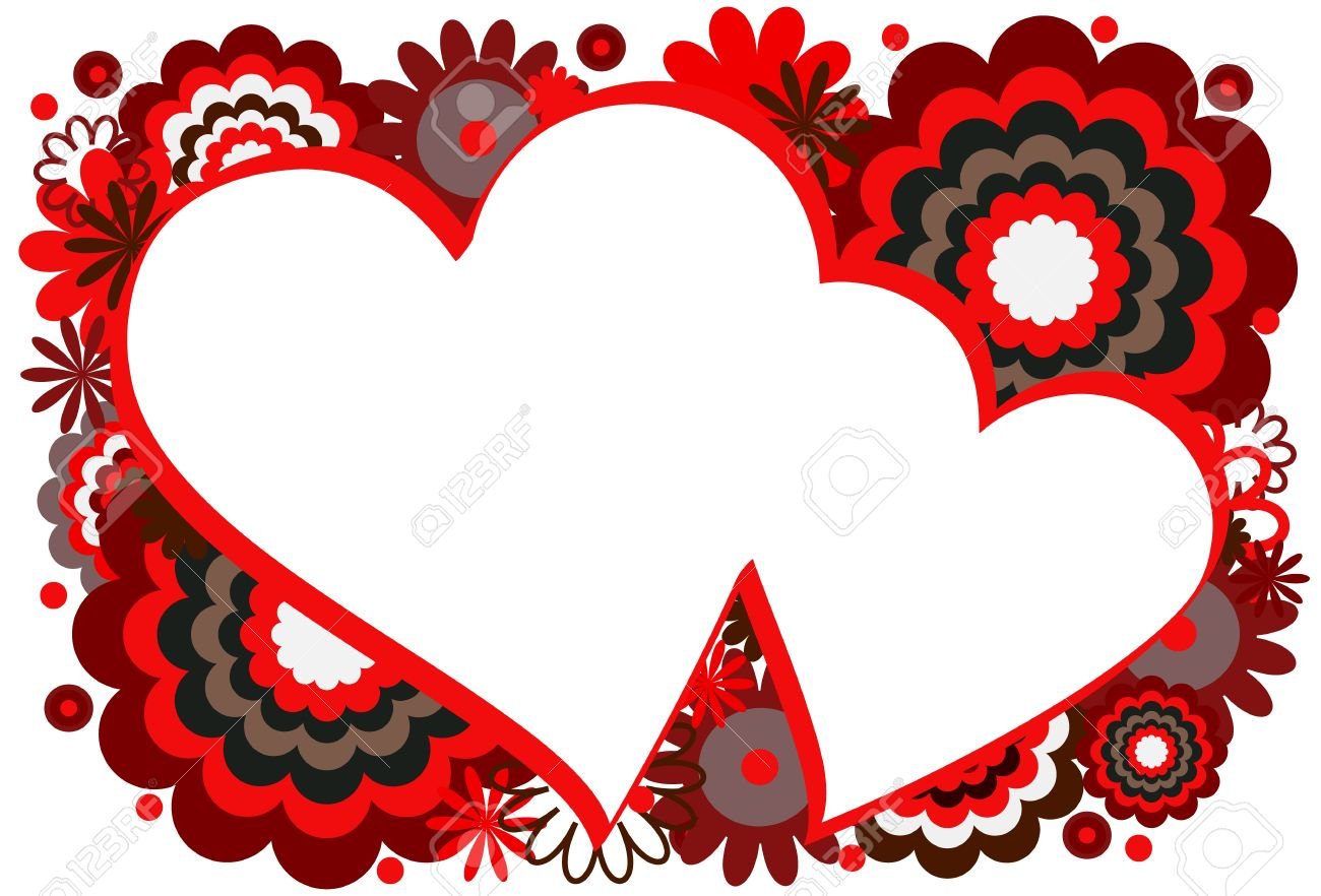 Red Heart Frame Royalty Free Cliparts, Vectors, And Stock ...