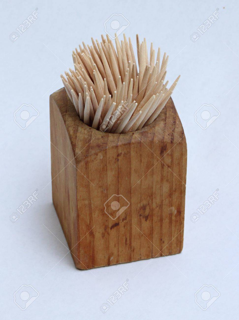 Wooden Toothpick Holder Stock Photo Picture And Royalty Free Image Image 16616963