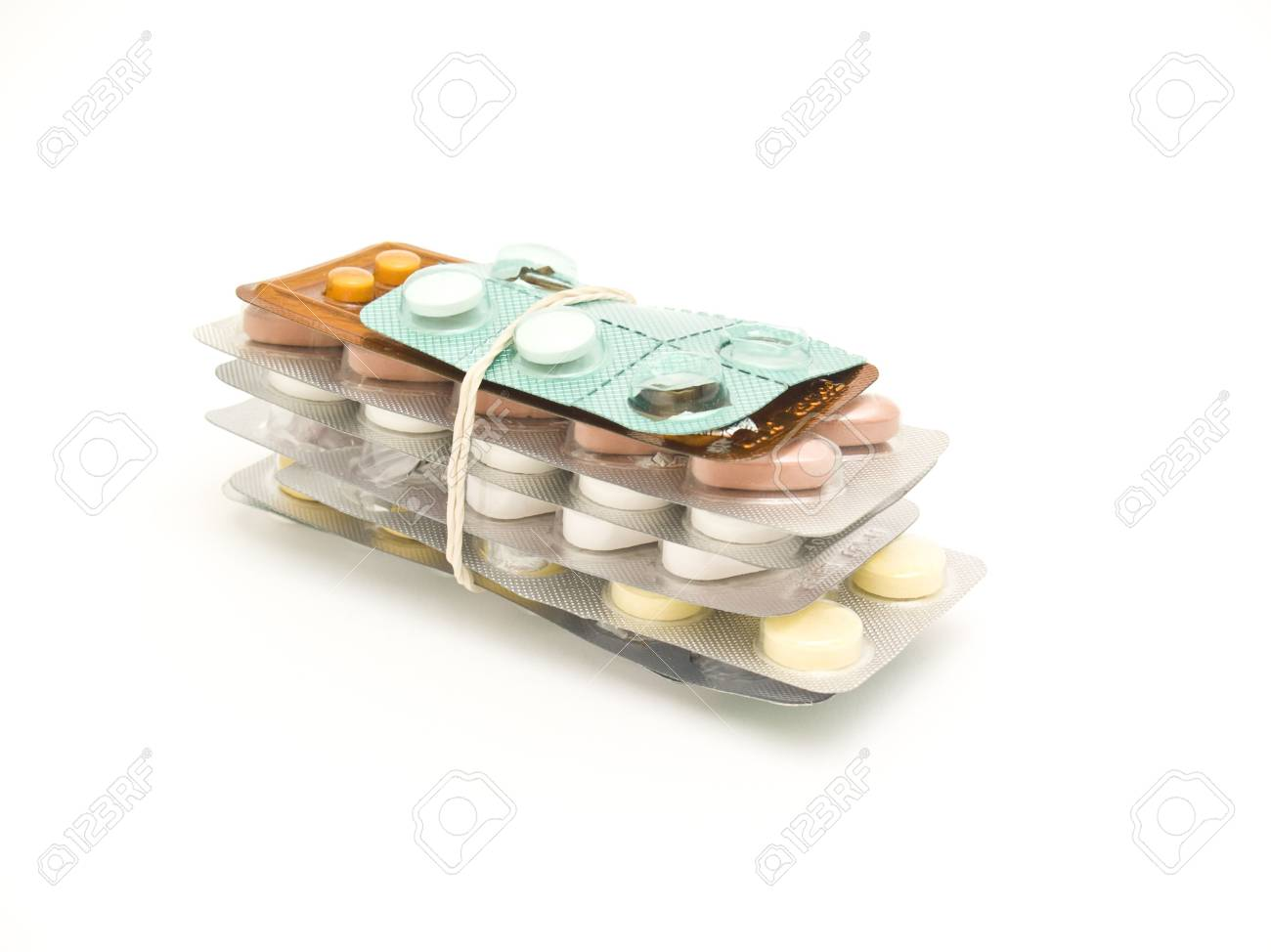 packs of medical pills and tablets Stock Photo - 4633524