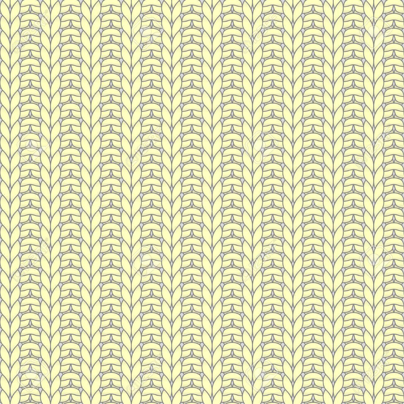 Amarillo Tejido Sin Costuras Patrón, Costilla, Un Punto, Puntilla ...
