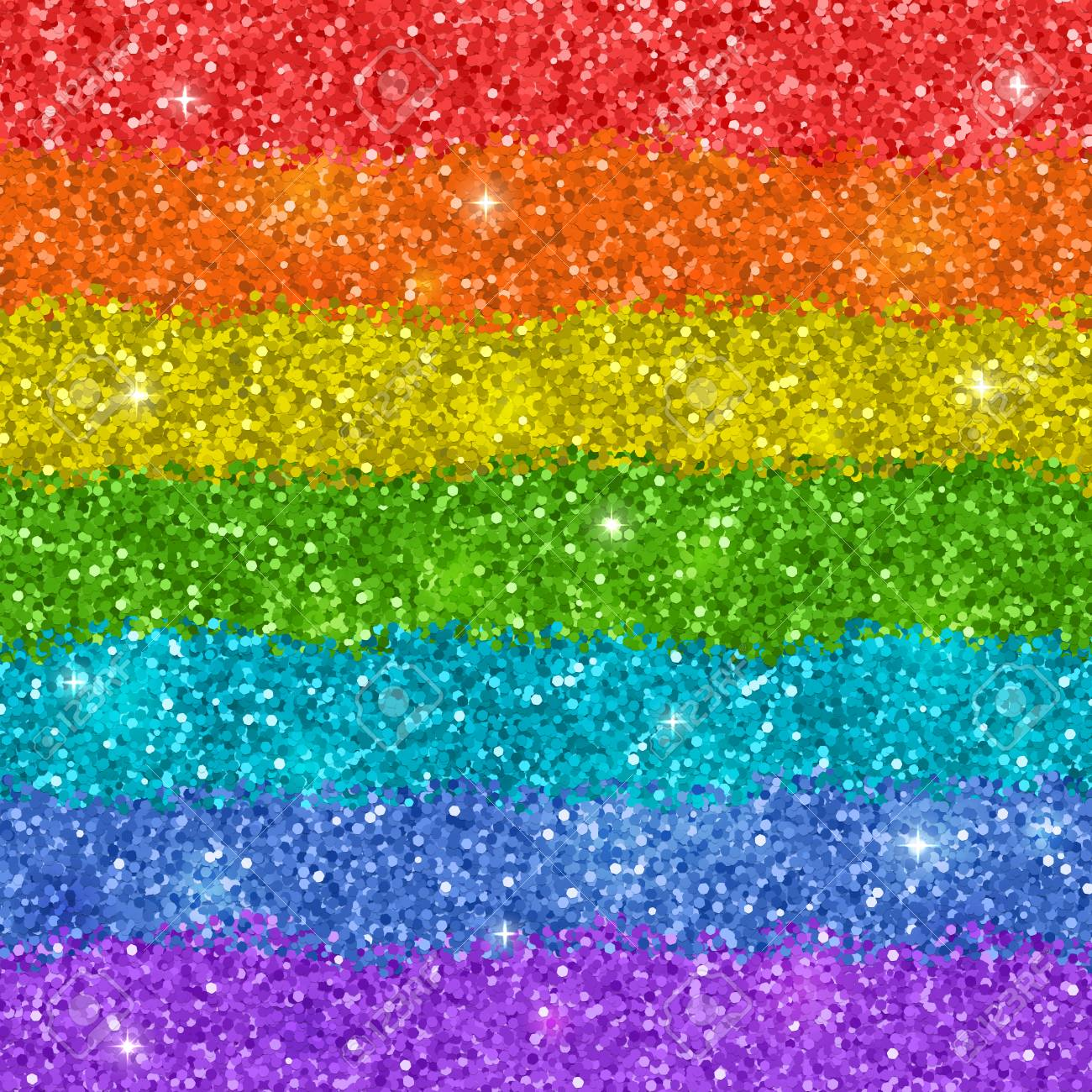 rainbow background with shiny glitter texture vector royalty free
