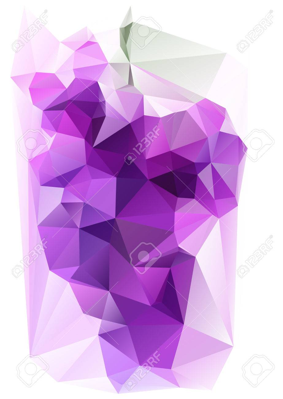 Triangulated purple grape autumn symbol for wine bottle designs autumn symbol for wine bottle designs stock vector 35055338 biocorpaavc Gallery