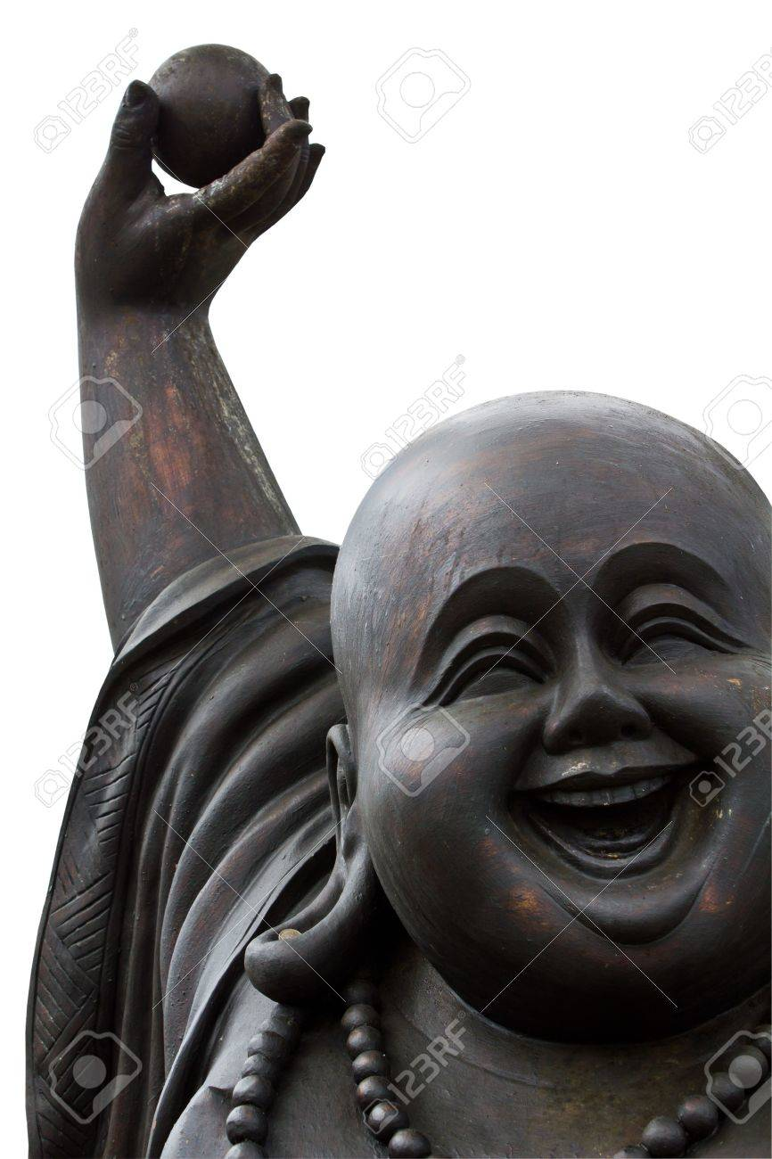 Laughing Buddha's Face on
