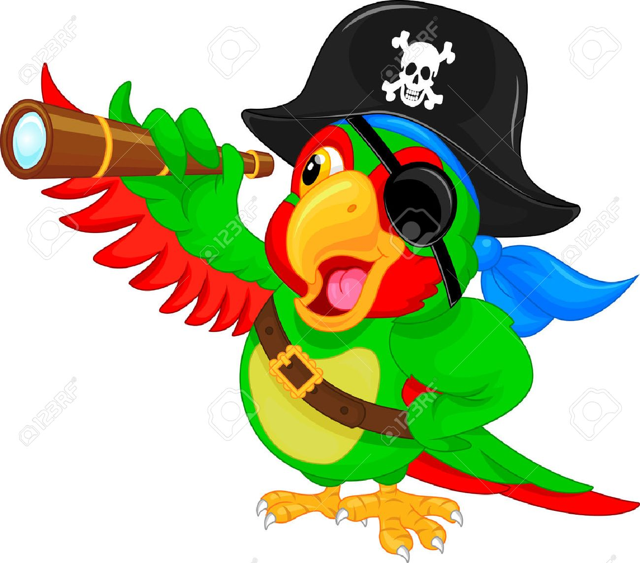 Pirate parrot png