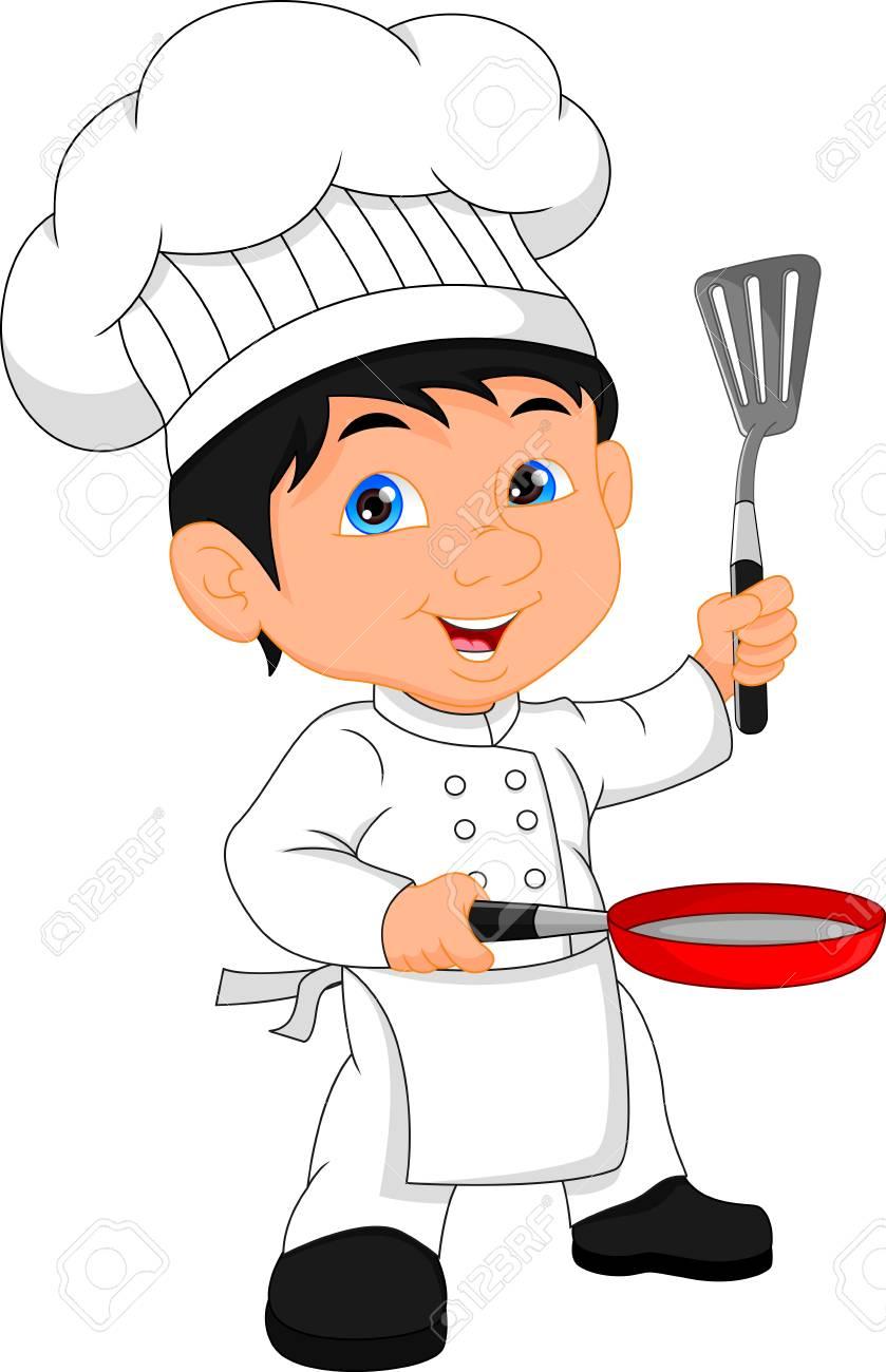 Boy Chef Cartoon Royalty Free Cliparts Vectors And Stock Illustration Image 87266636