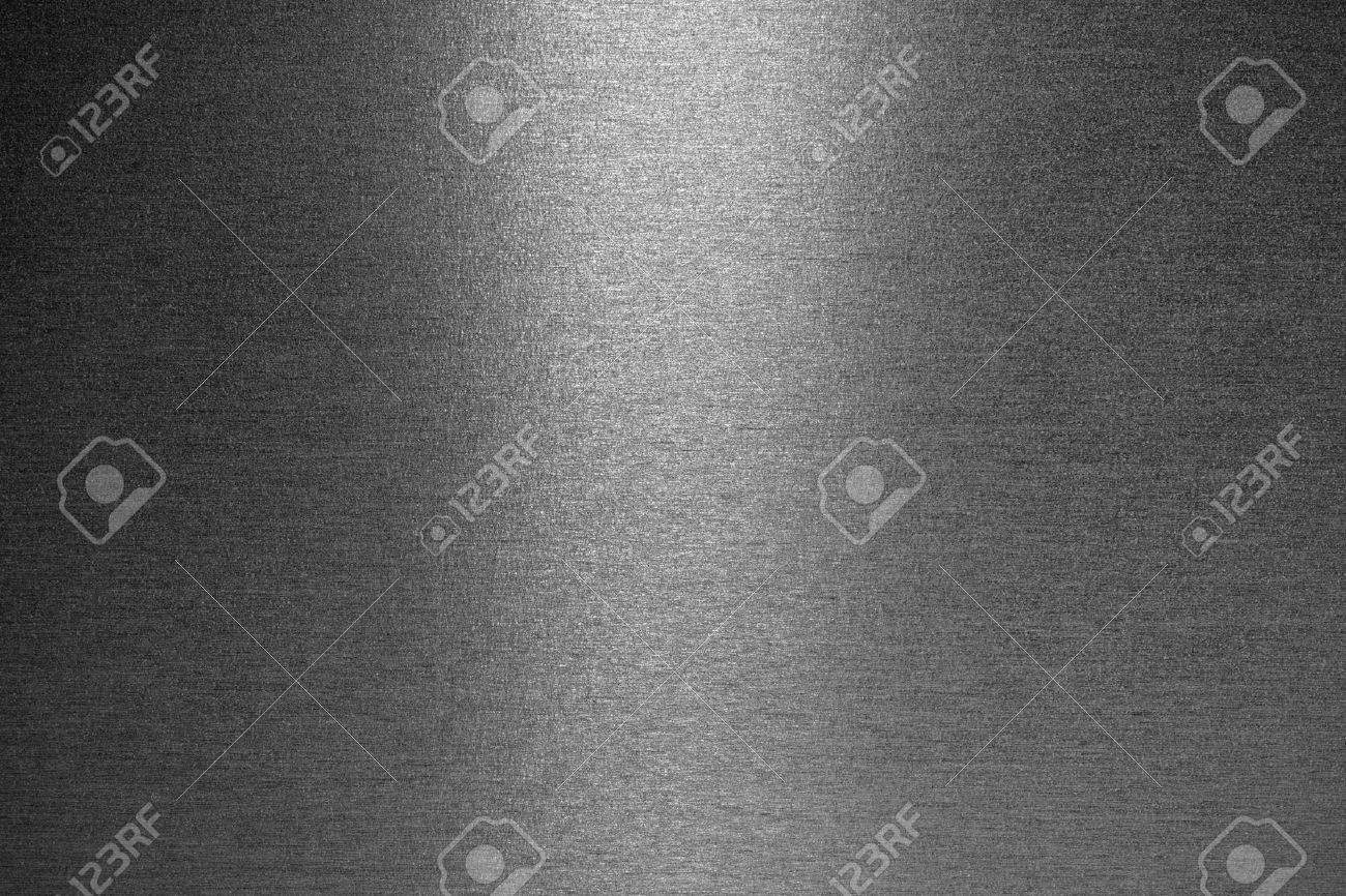 Smooth brushed metallic texture as a background - 48127962