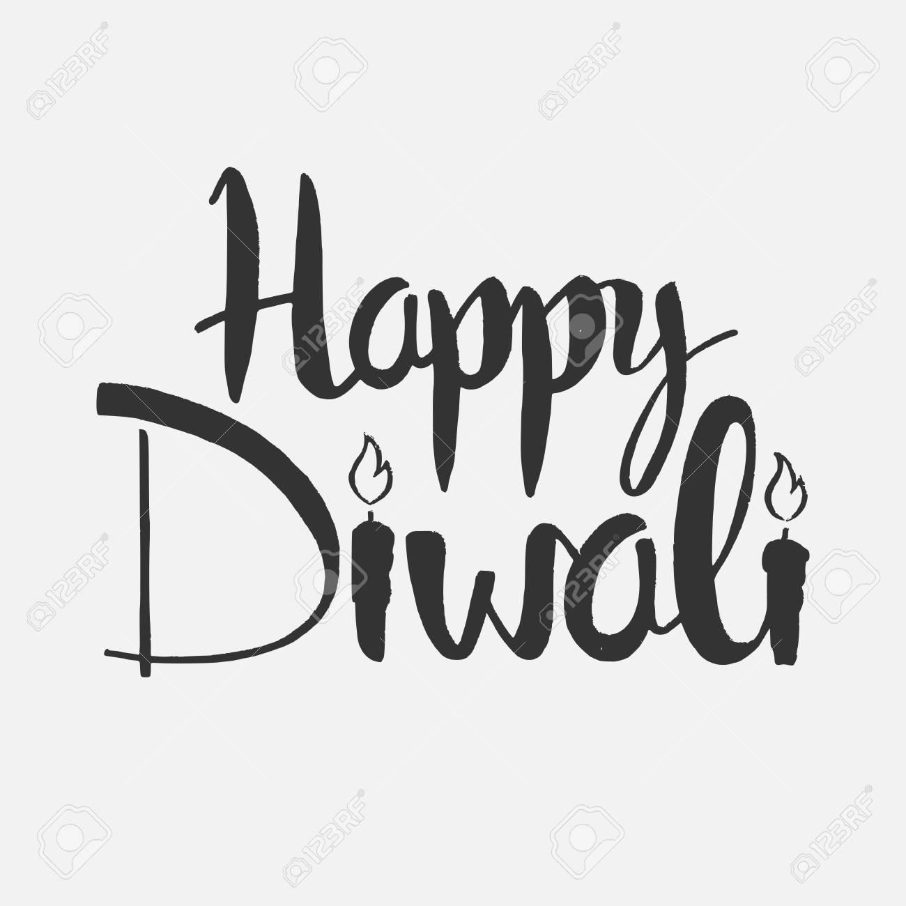 Happy Diwali Modern Card