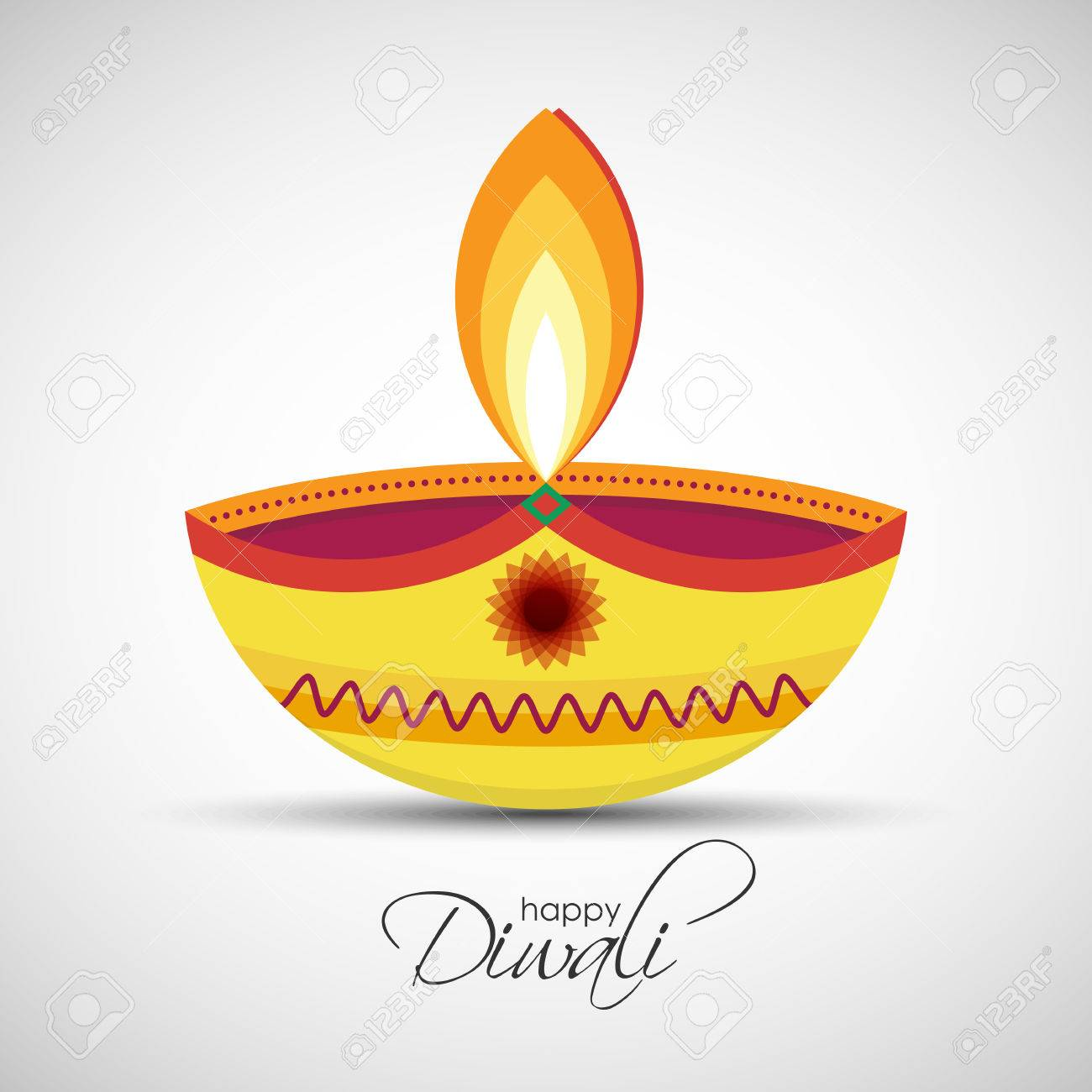 Festival Of Lights Deepavali Happy Diwali Abstract Background