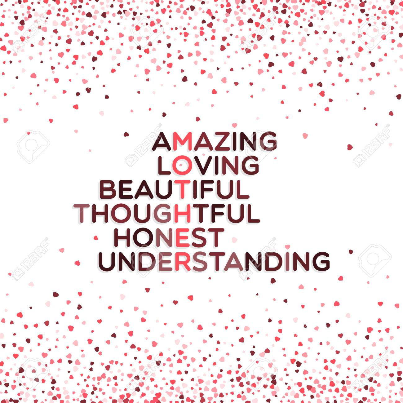 Mothers day greeting card words amazing loving beautiful mothers day greeting card words amazing loving beautiful thoughtful honest and m4hsunfo